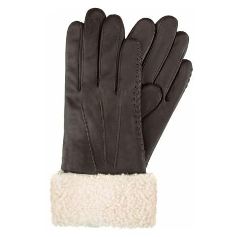 Pekné dámske rukavice s kožušinou Wittchen