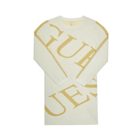 Guess Každodenné šaty J0BK02 Z2Q10 Béžová Regular Fit