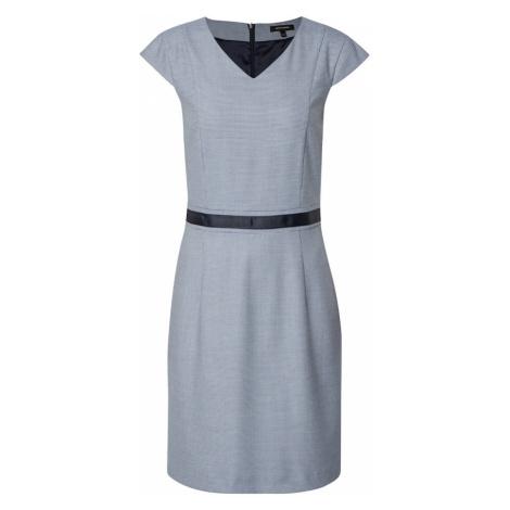 MORE & MORE Puzdrové šaty  modrosivá