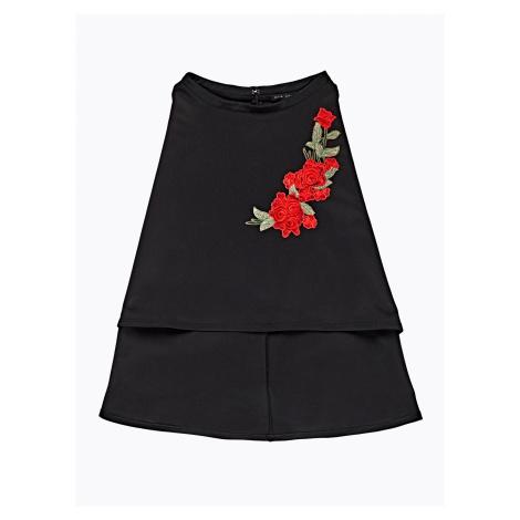 GATE Áčková sukňa s kvetinovou výšivkou