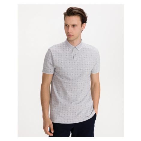 Tom Tailor Denim Polo tričko Šedá