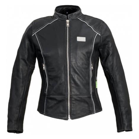 Dámska kožená moto bunda W-TEC Hagora Farba matne čierna