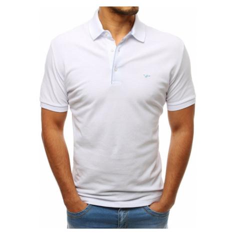 Men's white polo shirt PX0182 DStreet