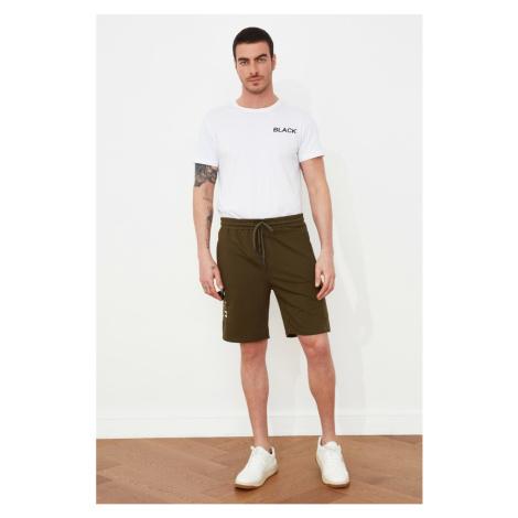 Trendyol Khaki Men's Regular Fit Shorts & Bermuda
