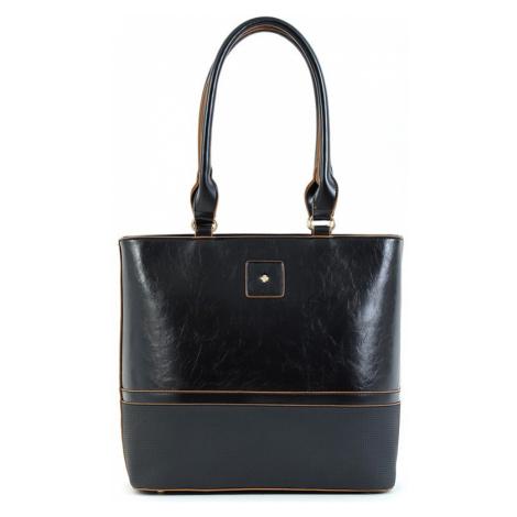 Dámska kabelka Doca 15667 - čierna