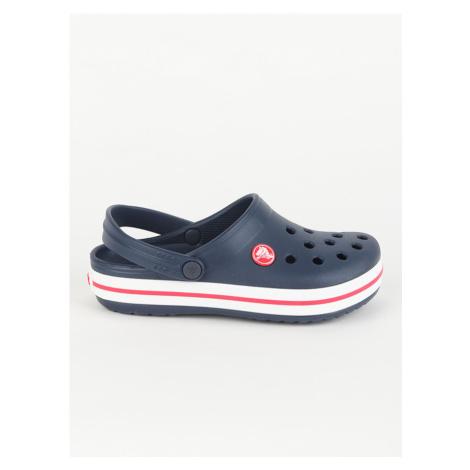 Sandále Crocs Crocband Clog K - Navy/Red Modrá