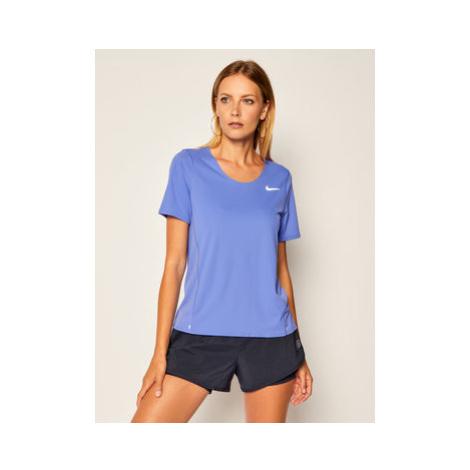Nike Funkčné tričko City Sleek CJ9444 Fialová Standard Fit