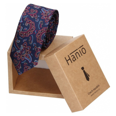 Pánska kravata Hanio Logan - modrá