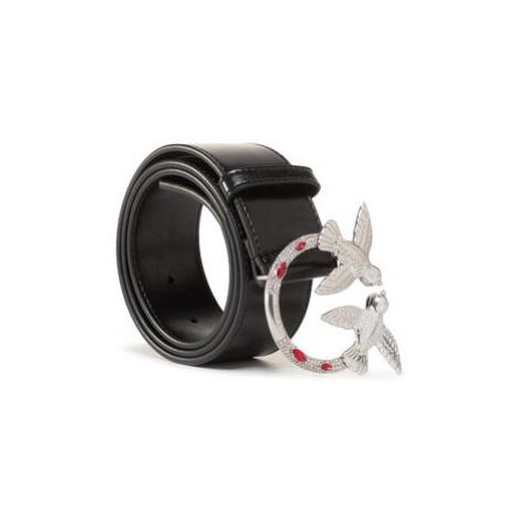 Pinko Dámsky opasok Berry Jewel Belt AI 20-21 PLT01 1H20TA Y5GB Čierna
