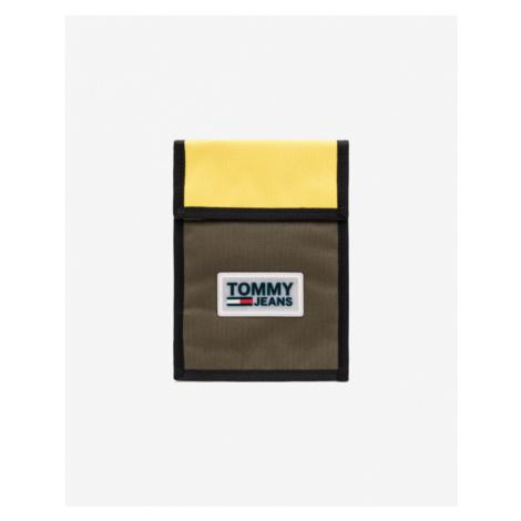 Tommy Jeans Urban Varsity Puzdro Zelená Žltá Tommy Hilfiger