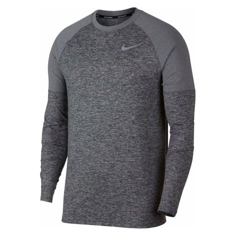 Nike Element Long Sleeve Performance Top Mens Dark Grey