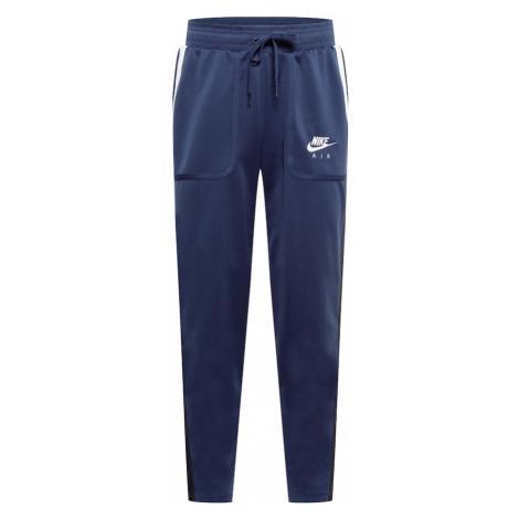 Nike Sportswear Nohavice  námornícka modrá / námornícka modrá / biela