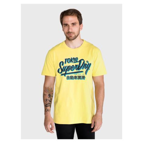 Triko SuperDry Žltá
