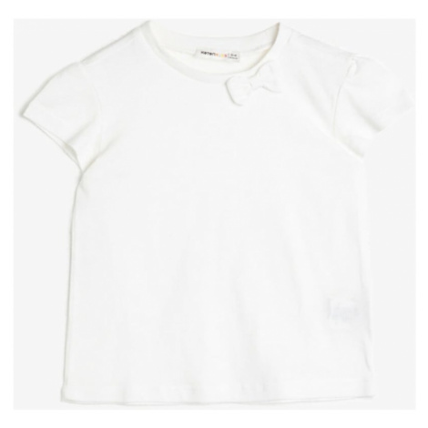 Koton White Girls T-Shirt