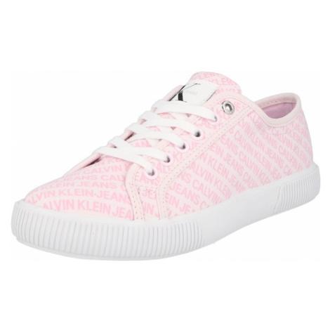 Calvin Klein Jeans Nízke tenisky  ružová / ružová