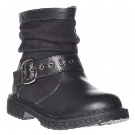 Junior League TRANAS čierna - Dievčenské nízke čižmy