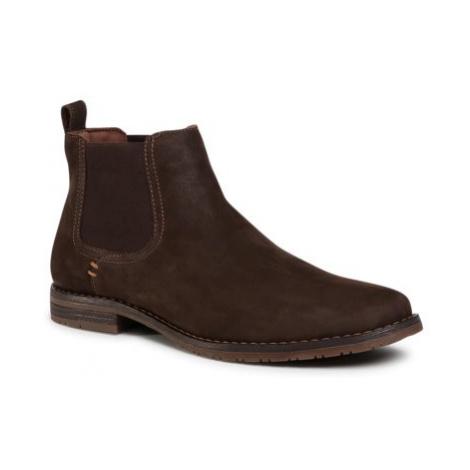 Členkové topánky Lasocki for men MB-STEVEN-103 nubuk