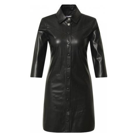 PATRIZIA PEPE Košeľové šaty  čierna