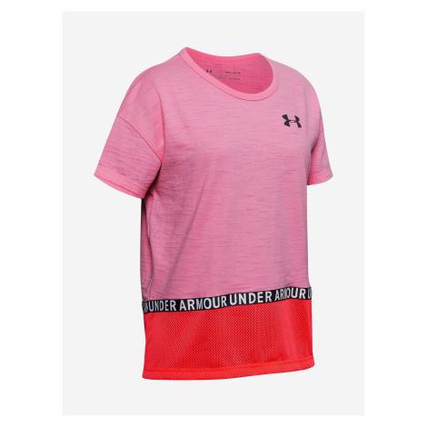 Charged Cotton® Triko dětské Under Armour Růžová