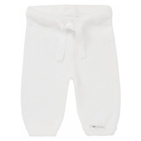 NOPPIES Nohavice pletené White 50