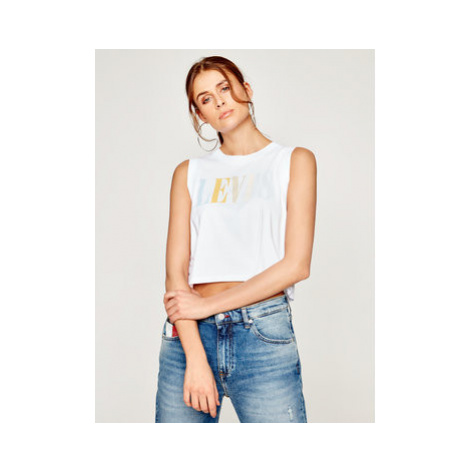 Levi's® Top Graphic Crop Tank 39810-0037 Biela Regular Fit Levi´s
