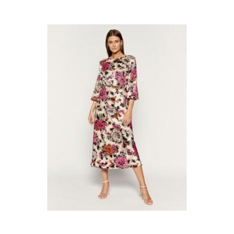 Pinko Letné šaty AI 19-20 PBK2 1B141V 7740 Farebná Regular Fit
