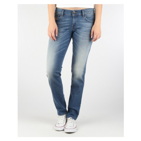 Diesel Getlegg Jeans Modrá