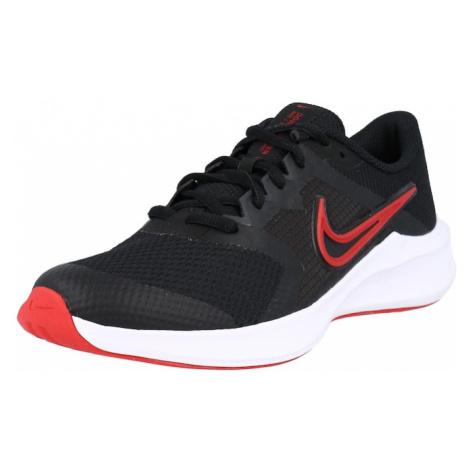 NIKE Športová obuv 'Downshifter'  čierna / červená