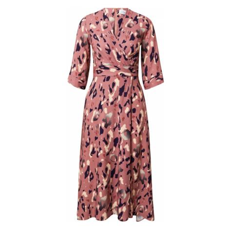 Closet London Šaty  ružová / zmiešané farby
