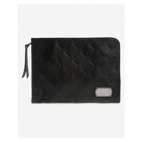Longchamp LM Cuir Obal na tablet Čierna