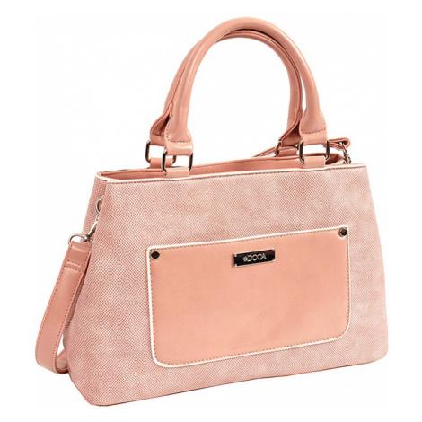 Dámska kabelka Doca 14628 - ružová