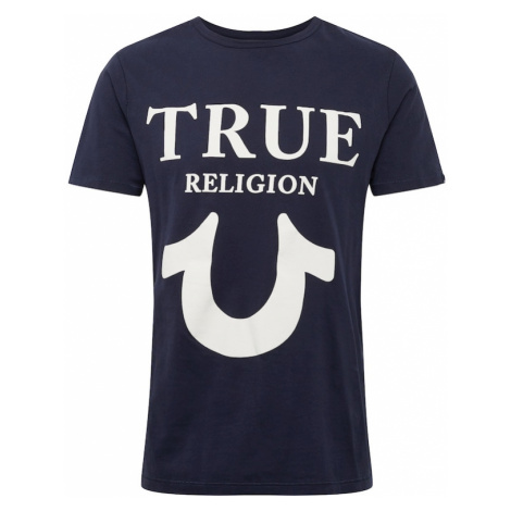 True Religion Tričko  námornícka modrá / biela