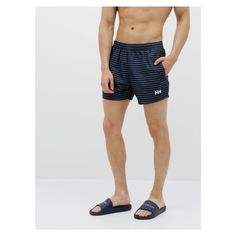 Blue men's striped swimsuit HELLY HANSEN Colwell