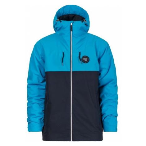 Horsefeathers SABER JACKET modrá - Pánska lyžiarska/snowboardová bunda
