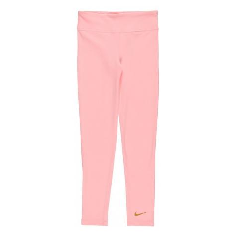 NIKE Športové nohavice  ružová / horčicová