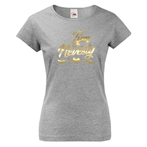 Dámske tričko na rozlúčku so slobodou Tím nevesty 3