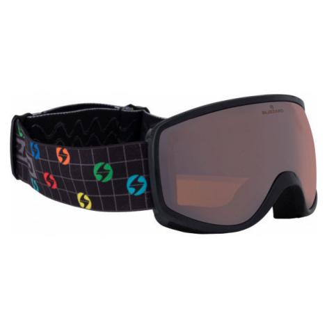 Blizzard DAO KIDS čierna - Detské zjazdové okuliare