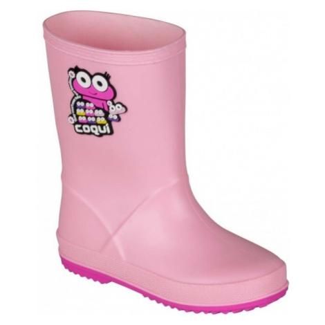 Coqui RAINY ružová - Detská obuv