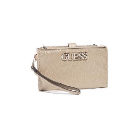 Guess Veľká dámska peňaženka Uptown Chic (MG) Slg SWMG73 01570 Zlatá