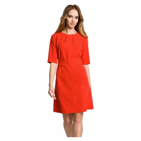 Červené šaty M362 Moe