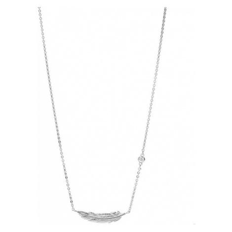 Fossil Dámsky náhrdelník s pierkom JFS00407040