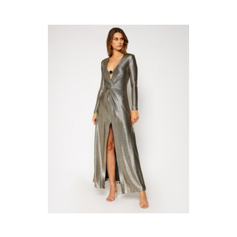 Pinko Večerné šaty Circolo 20202 PBK2 1B14N1.8289 Zlatá Regular Fit