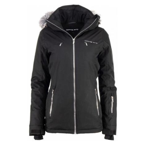 ALPINE PRO MARIOLA čierna - Dámska lyžiarská bunda