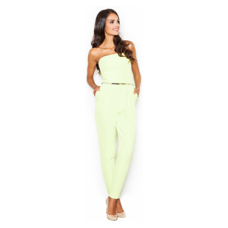 Figl Woman's Jumpsuit M396 Lime