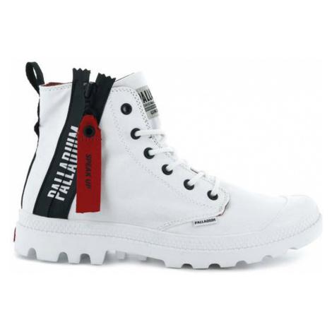 Palladium Boots Pampa Unzipped White-6 biele 76443-171-M-6