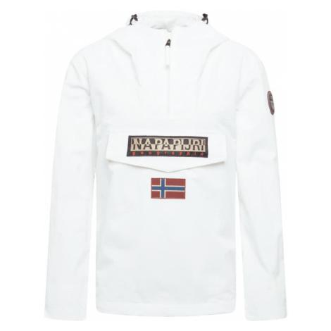 NAPAPIJRI Prechodná bunda 'RAINFOREST'  biela / červená / modrá