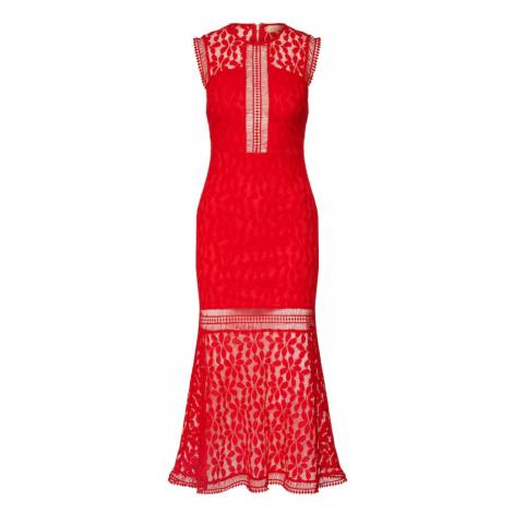 Love Triangle Večerné šaty  červená
