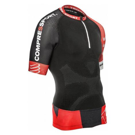 Trail Running Shirt V2 běžecký elastický dres barva: černá;velikost oblečení: M Compressport
