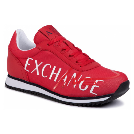 Sneakersy ARMANI EXCHANGE - XUX062 XV222 00029 Red