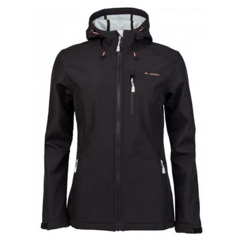 Crossroad FLORY čierna - Dámska softshellová bunda
